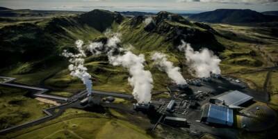 Image: Her gjør de om CO2 til stein