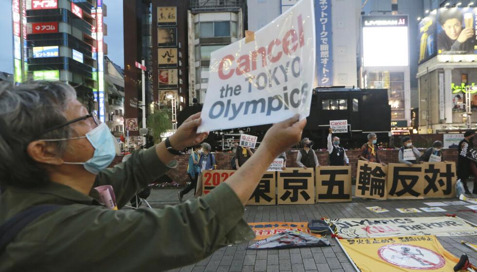 Mange i Japan vil ha OL-avlysning. Foto: Koji Sasahara / AP / NTB