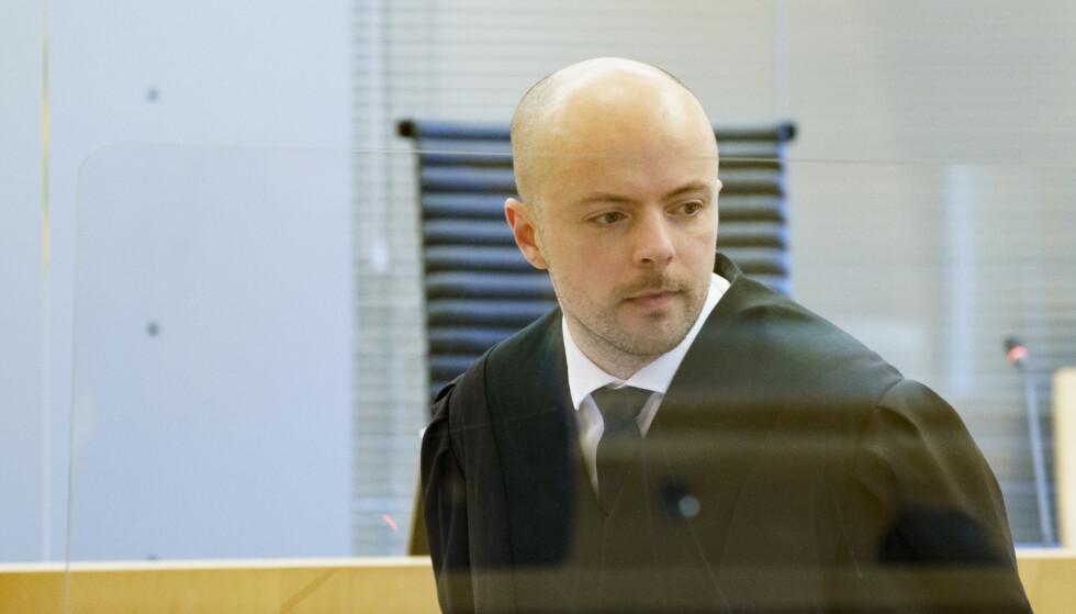 Advokat Andreas Berg Fevang er guttens forsvarer. Foto: Torstein Bøe / NTB