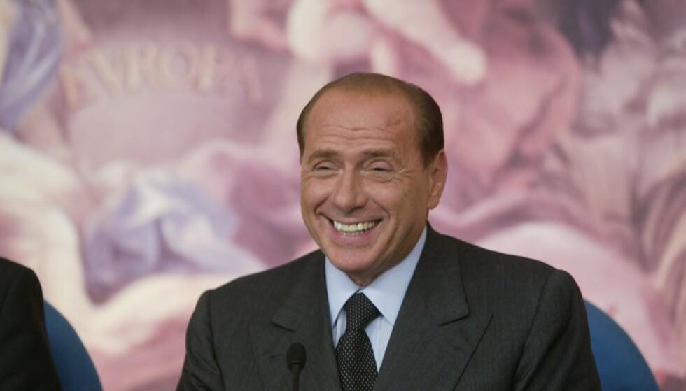 Italias tidligere statsminister Silvio Berlusconi er alvorlig syk. Her på et bilde fra 2003. Arkivfoto: Bjørn Sigurdsøn / NTB