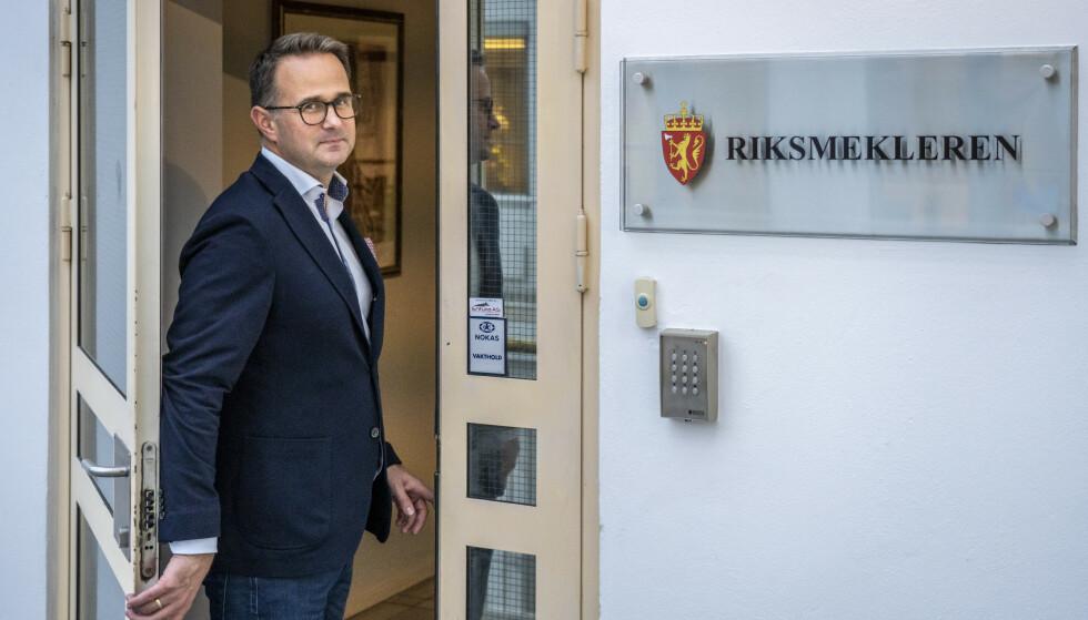 Riksmekler Mats Wilhelm Ruland har kalt inn partene i lønnsoppgjøret i Oslo kommune til mekling. Foto: Ole Berg-Rusten / NTB