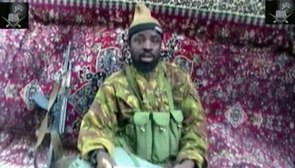 Abubakar Shekau skal være død, ifølge flere medier. (Foto: Rex/NTB)