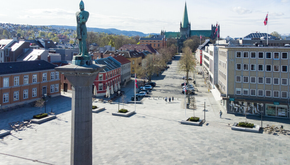 Smittetallene har gjennom våren vært svært lave i Trondheim sammenlignet med andre storbyer. Men nå går smittetallene opp, og kommunen er bekymret. Foto: Gorm Kallestad / NTB