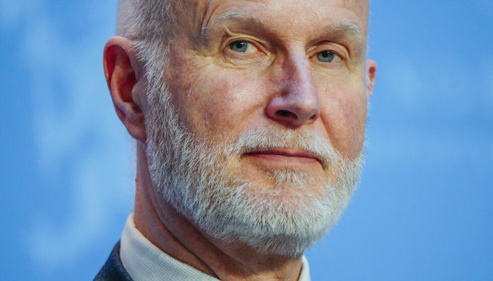 Helsedirektør Bjørn Guldvog tror ikke økt smitte de nærmeste ukene vil spolere gjenåpningen. Foto: Lise Åserud / NTB