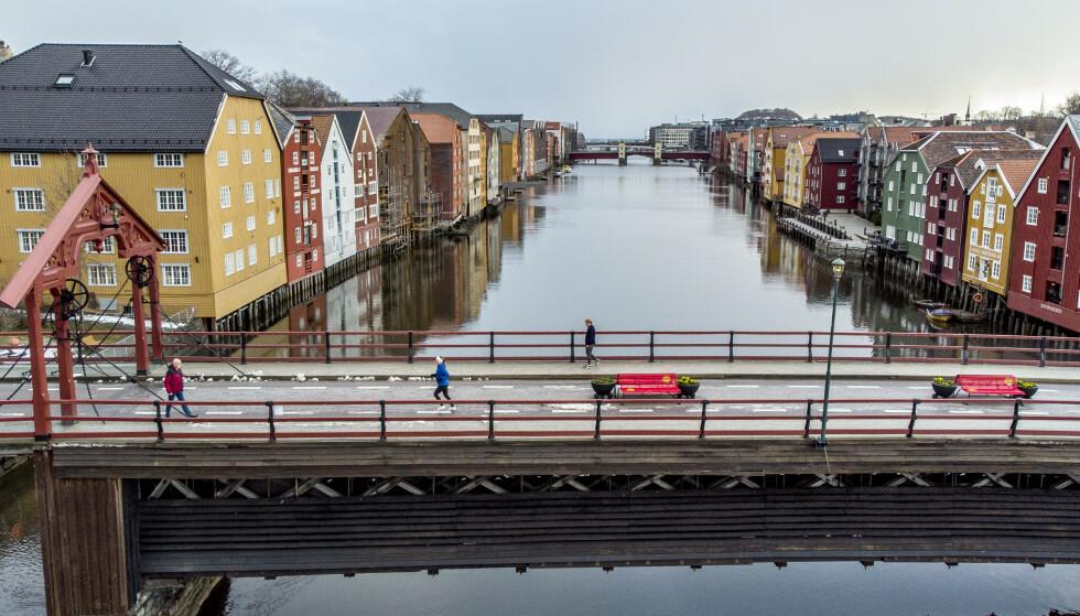 47 personer har det siste døgnet fått påvist koronasmitte i Trondheim. Foto: Gorm Kallestad / NTB