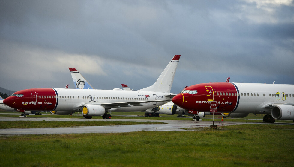 Flyselskapet Norwegian har hatt et krevende år som følge av koronapandemien og reiserestriksjoner. Foto: Carina Johansen / NTB