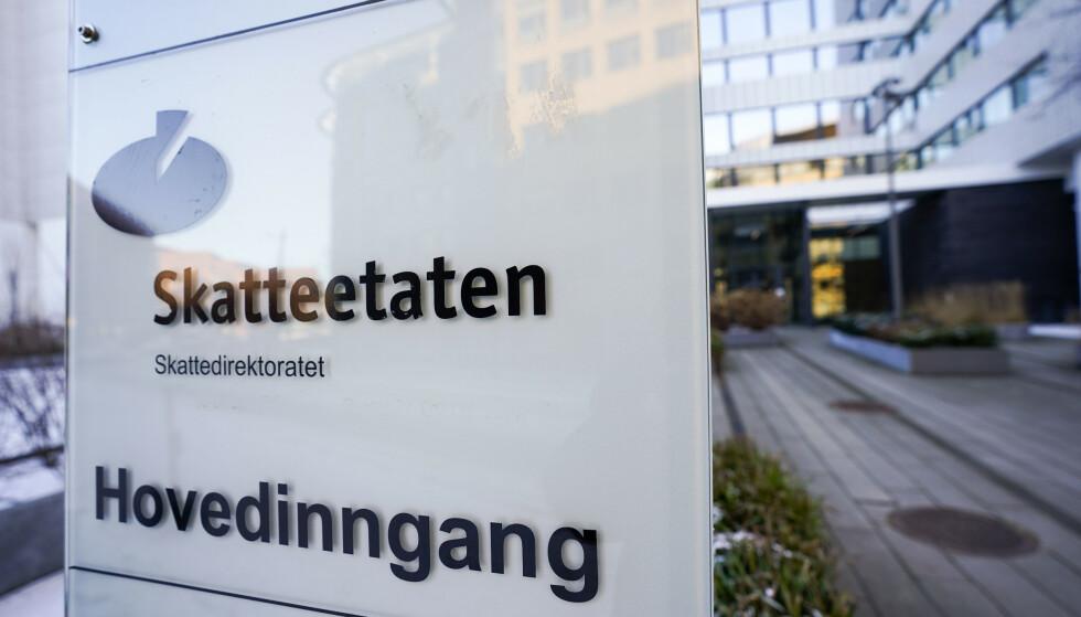 Skatteetaten advarer mot ny epost-svindel. Foto: Lise Åserud / NTB