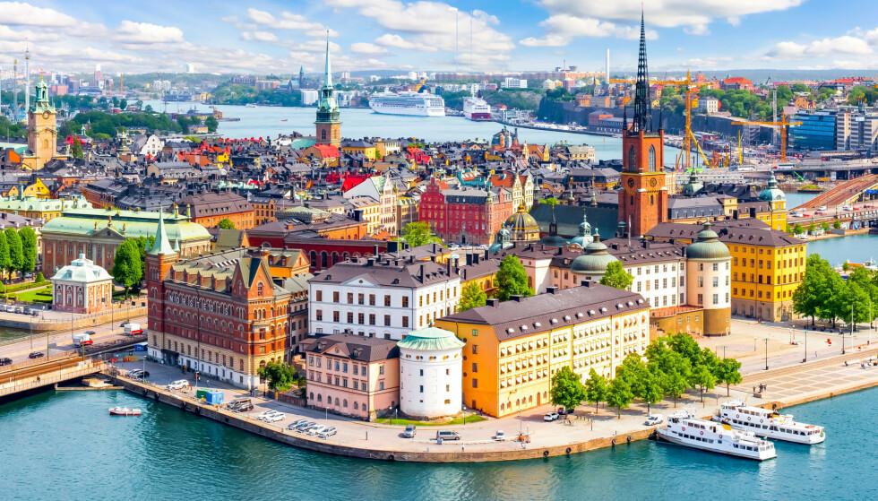 Illustrasjonsfoto Stockholm: Foto: Shutterstock / NTB scanpix