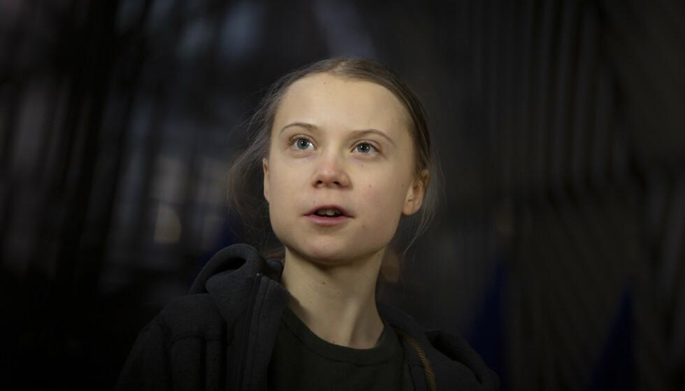 MDG vil invitere den kjente, svenske klimaaktivisten Greta Thunberg til å komme og tale i Stortinget 27. august. Foto: NTB / AP