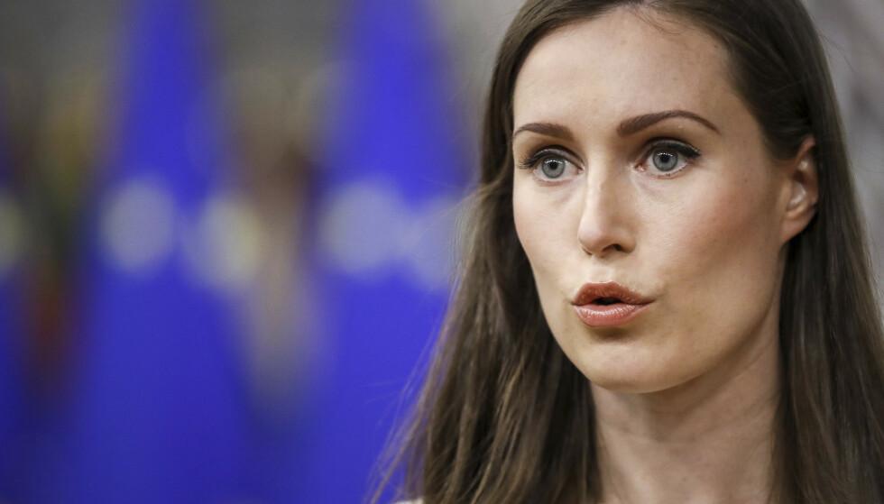 Sanna Marin må heretter betale frokostene sine selv. Foto: Olivier Hoslet / Pool / AP / NTB