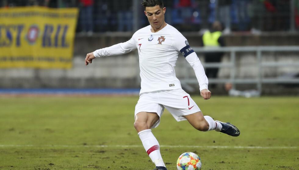 DISSE KAMPENE BLIR SPILT UNDER EM: Cristiano Ronaldo blir å se da Portugal skal spille EM. FOTO: NTB