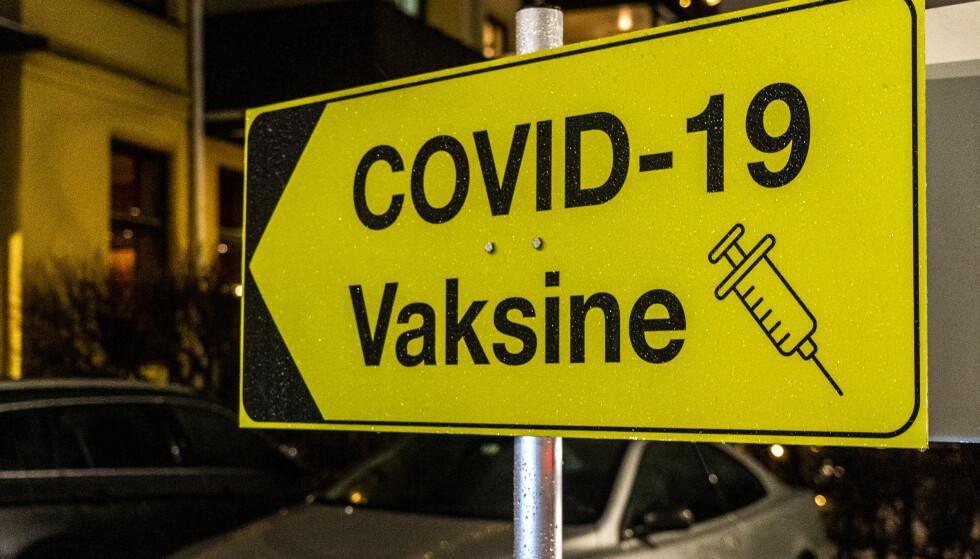 Til nå har 1,75 millioner nordmenn fått første dose av coronavaksinen, og 1,15 millioner er fullvaksinerte med to doser. Foto: Terje Pedersen / NTB