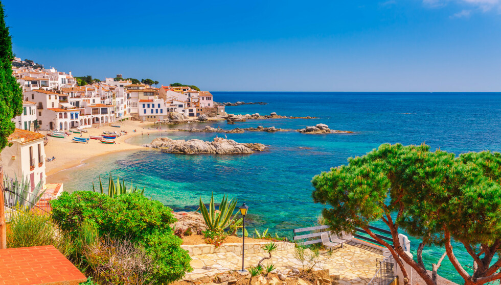 Fra det berømte turistreisemålet Costa Brave på solkysten. Foto: Oleg_P / Shutterstock / NTB