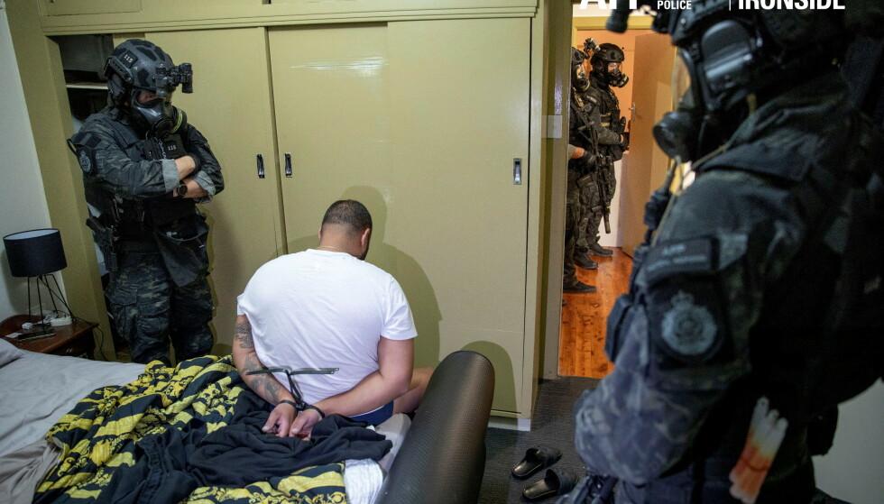 En internasjonal politioperasjon mot organisert kriminalitet har ført til hundrevis av pågripelser. En rekke land, blant dem Norge, ser ut til å være involvert. Foto: NTB