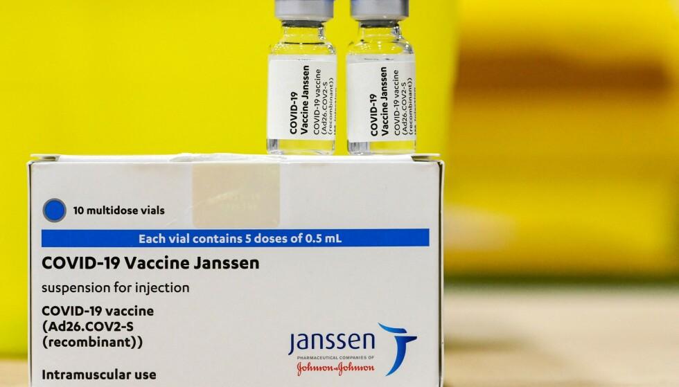 Jansson-vaksinen. FOTO: NTB