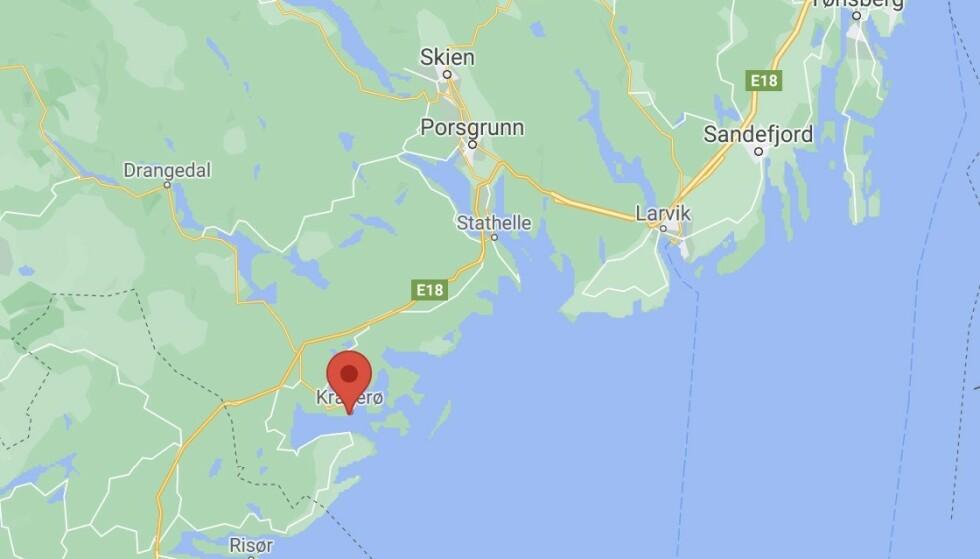 Kvinne knivstukket i Kragerø
