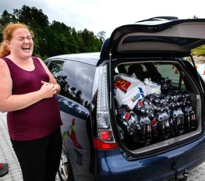 Image: Kjøpte 360 liter Pepsi Max