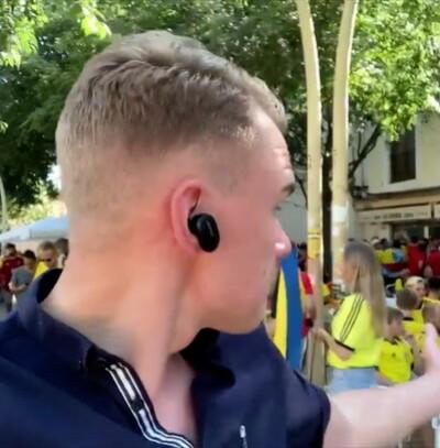 Image: Svensk reporter håner Norge