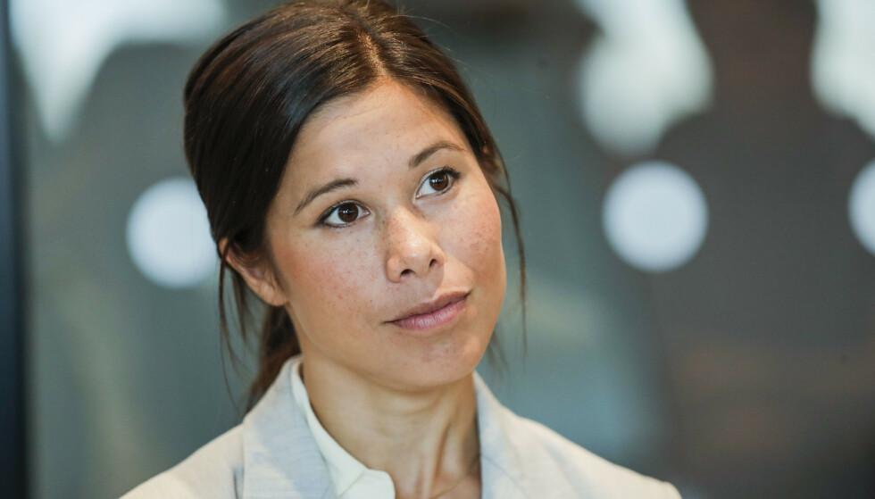 På dagens pressekonferanse blir det klart om Lan Marie Berg (MDG) må gå av som miljøbyråd. Foto: Vidar Ruud / NTB