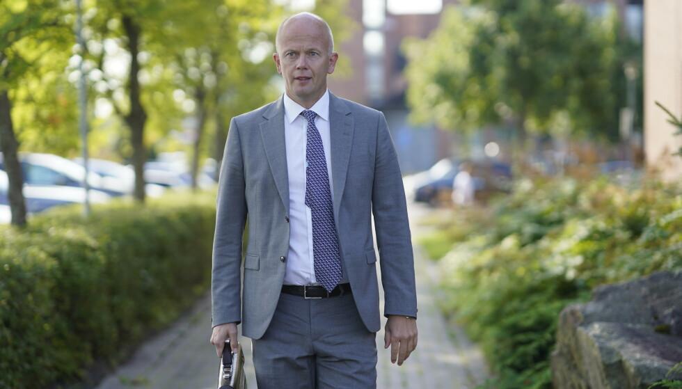 Jan Helge Andersen har avlagt nye DNA-prøver, sier hans forsvarer, advokat Svein Holden. Foto: Cornelius Poppe / NTB