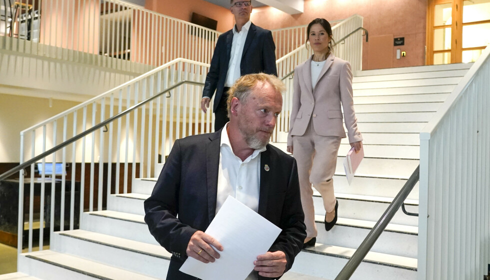 Byrådet i Oslo går av. Foto: Heiko Junge / NTB