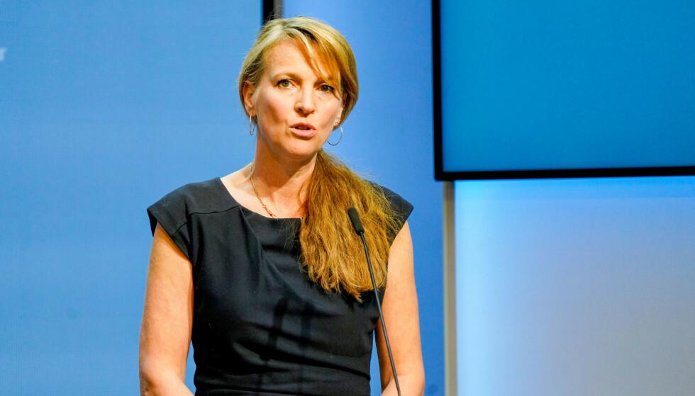Line Vold, avdelingsdirektør i Folkehelseinstituttet. Foto: Gorm Kallestad / NTB