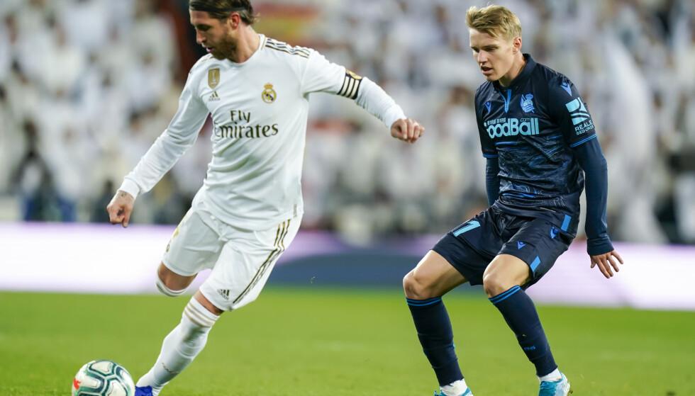 Klubblegenden Sergio Ramos har spilt sin siste kamp for Real Madrid. Foto: Heiko Junge / NTB