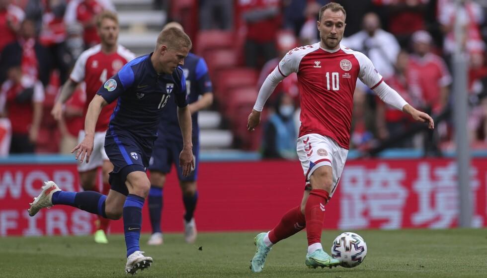 Christian Eriksen kan trolig ikke spille videre i italiensk fotball. Foto: Wolfgang Rattay / Pool via AP / NTB