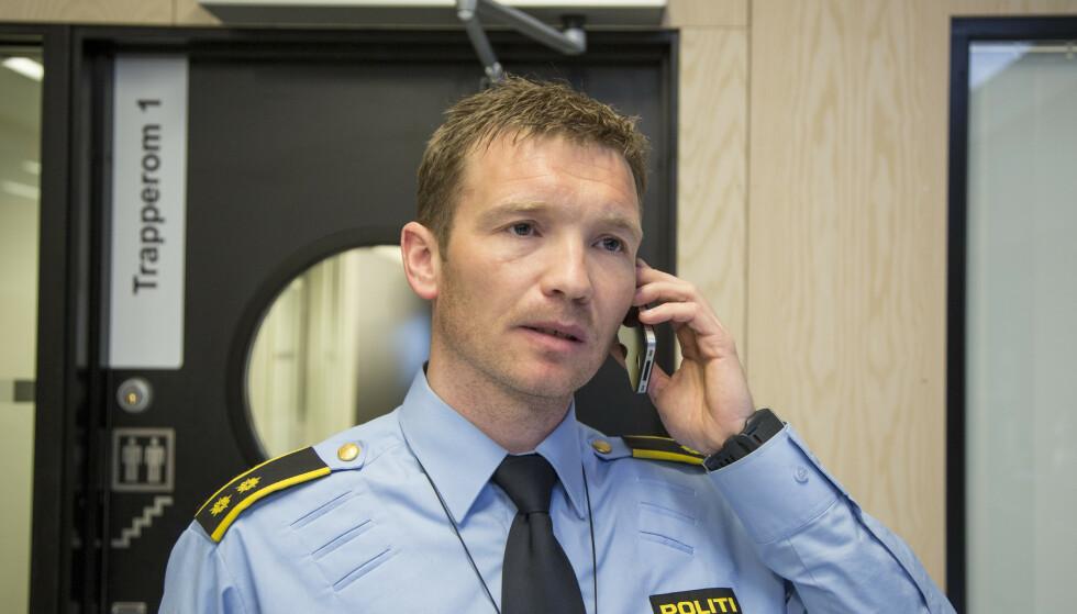 Politiinspektør Yngve Myrvoll i Troms politidistrikt. Foto: Jan-Morten Bjørnbakk / NTB