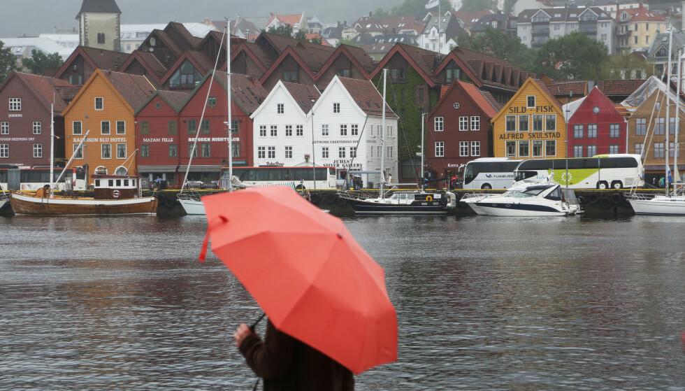 Det er ikke registrert noen koronasmittede personer i Bergen det siste døgnet. Foto: Erik Johansen / NTB