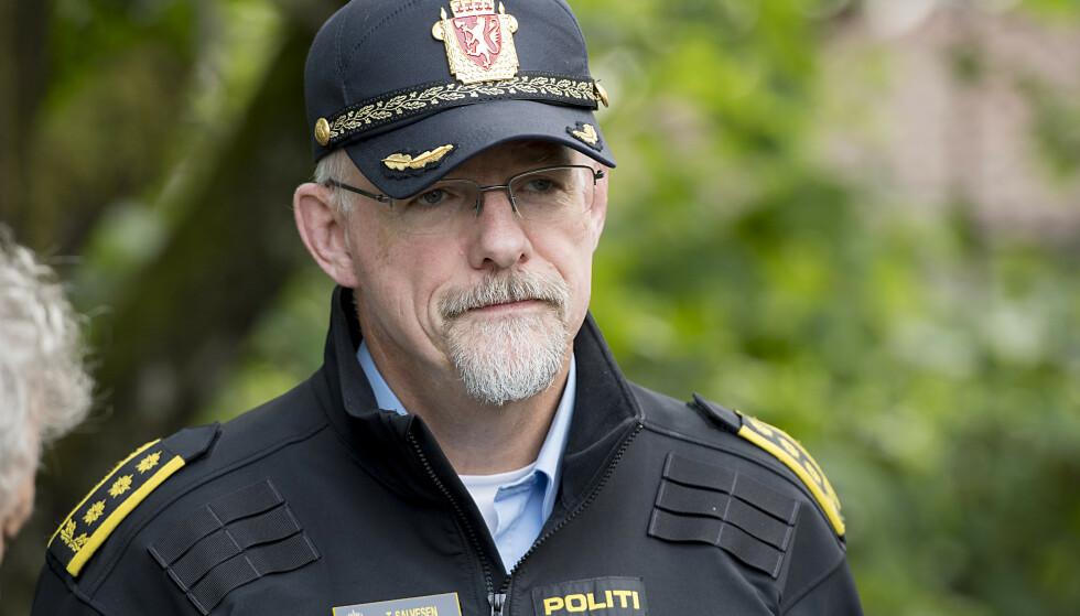 Politiinspektør Tore Salvesen advarer om at stadig flere ungdommer på Vestlandet blir seksuelt misbrukt av andre ungdommer. Foto: Marit Hommedal / NTB