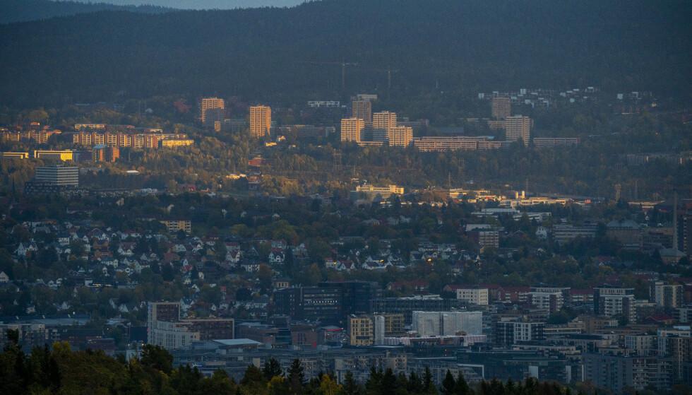 Groruddalen i Oslo. (Foto: Håkon Mosvold Larsen / NTB)