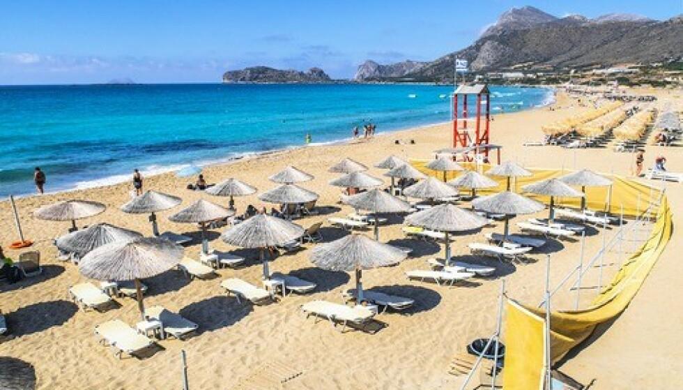 Kreta kan bli grønt på smittekartet når FHI oppdaterer dette fredag. Foto: Halvard Alvik / NTB