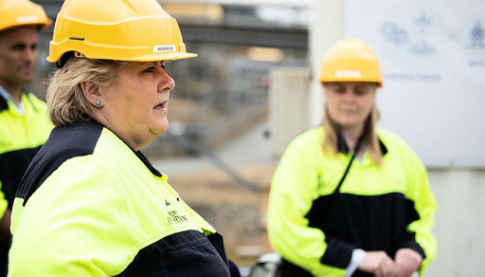 Solberg: Grønn ammoniakk kan bli et nytt industrieventyr