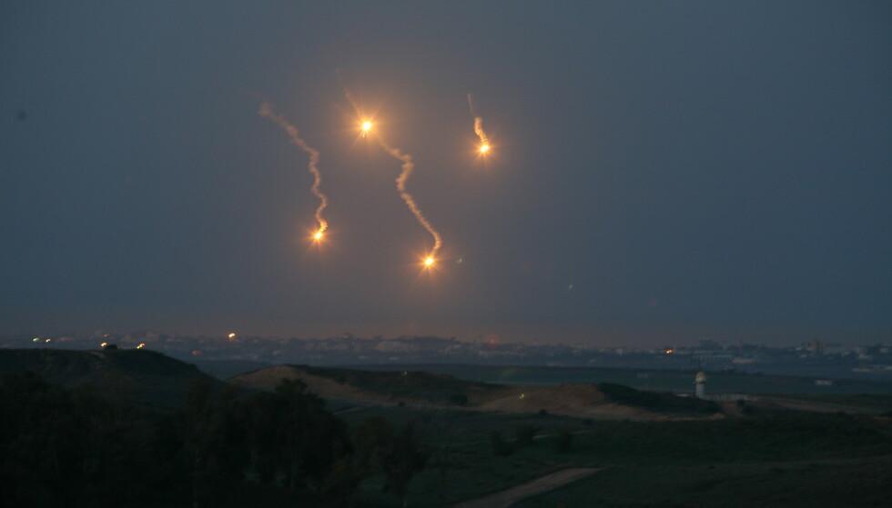 Israel bomber mål på Gazastripen