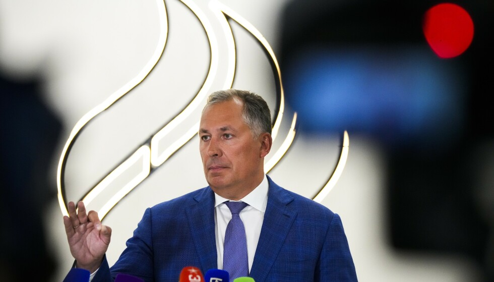 Russlands OL-president Stanislav Pozdnjakov bekrefter at to roere har avlagt positive dopingprøver før OL. Foto: Alexander Zemlianichenko / AP / NTB