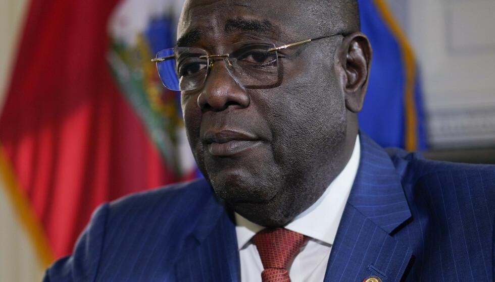 Haitis USA-ambassadør Bocchit Edmond sier gjerningsmennene bak drapet på landets president ga seg ut for å være amerikanske agenter. Foto: Carolyn Kaster / AP / NTB