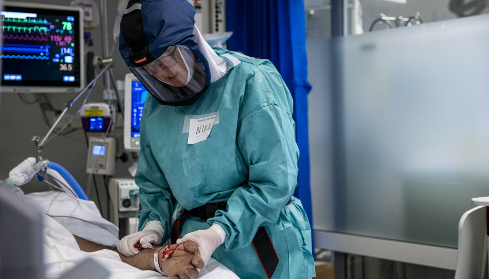 En ny, svensk studie viser at menn som var i god form da de var vernepliktige, har mindre grad trengte sykehusbehandling da de ble smittet av korona våren 2020. Illustrasjonsfoto: Jil Yngland / NTB