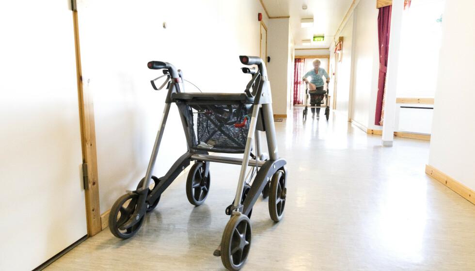 En studie blant ansatte på norske sykehjem viser at forsømmelser, vold og overgrep er utbredt på norske sykehjem. Foto: Gorm Kallestad / NTB