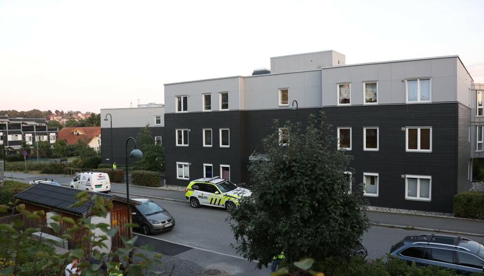 En 81-åring er dømt for å ha drept kona si i Moss i fjor. Foto: Ørn E. Borgen / NTB