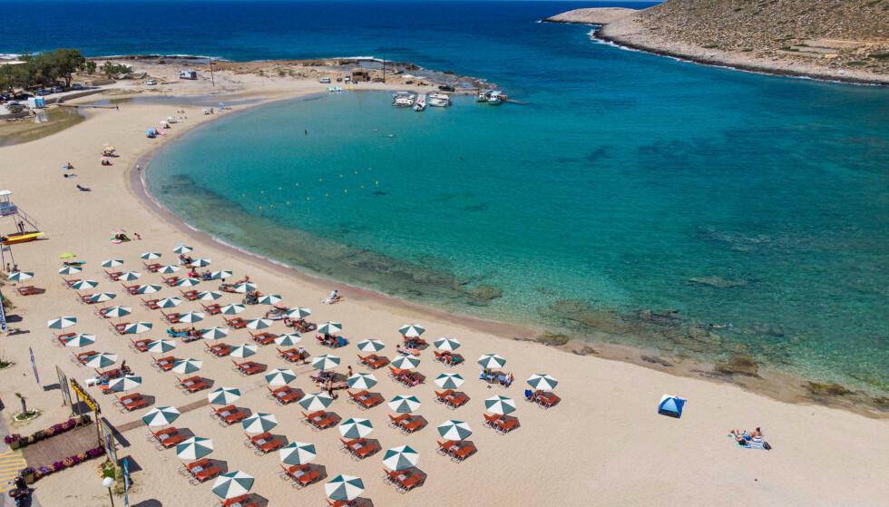 Kreta er blandt øygruppene hvor reiserådene endres. Foto: NTB