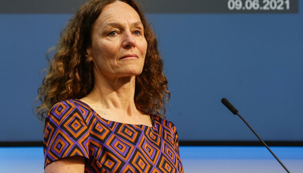 Direktør Camilla Stoltenberg i Folkehelseinstituttet. Foto: Berit Roald / NTB