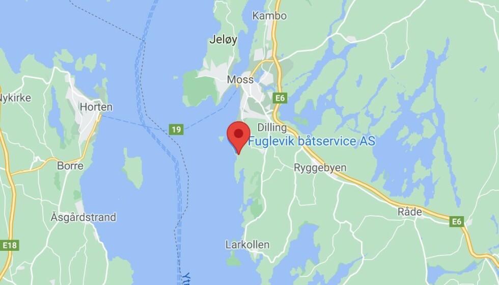 Mann dratt opp av vannet etter drukningsulykke ved Fuglevik i Moss