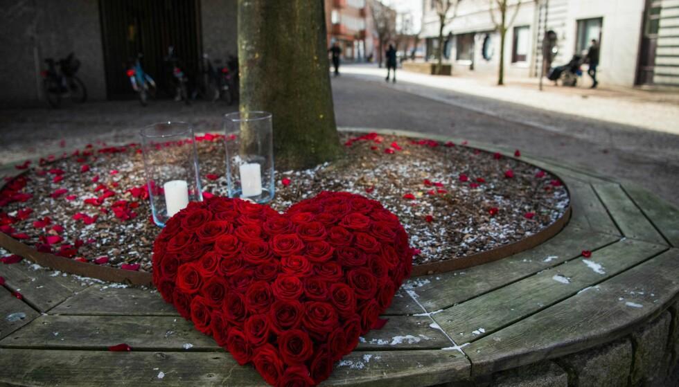 Vetlanda dagen etter knivangrepet. Foto: AFP/NTB