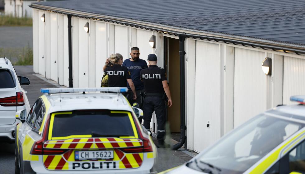 Tirsdag kveld ble det løsnet skudd mot en bil med en person i på Skårersletta i Lørenskog. Personen i bilen er ikke skadd, og politiet søker etter gjerningsmannen. Onsdag kveld og natt til torsdag var det en politiaksjon i samme område, men uten at politiet pågrep noen. Arkivfoto: Jil Yngland / NTB