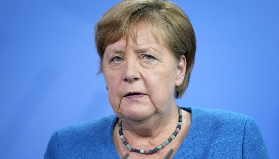 Angela Merkel. Foto: NTB