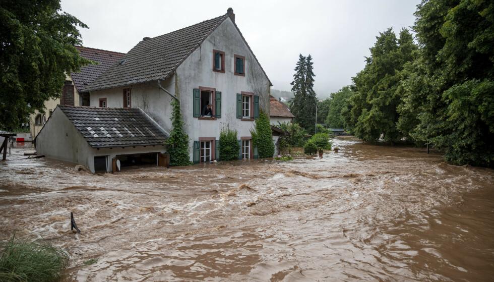 Fra Erdorf, Tyskland. Foto: NTB
