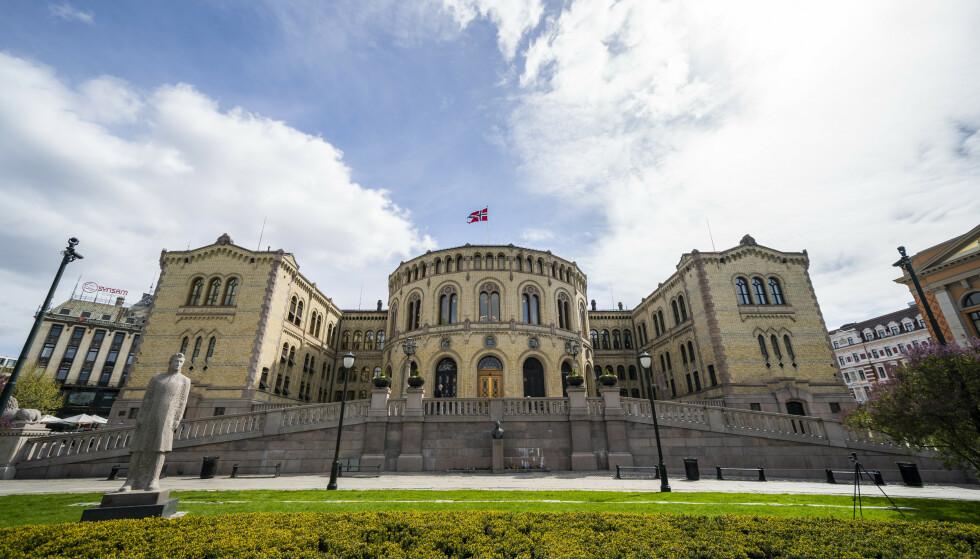 Stortinget ble i mars i år rammet av et epostinnbrudd. Foto: Håkon Mosvold Larsen / NTB
