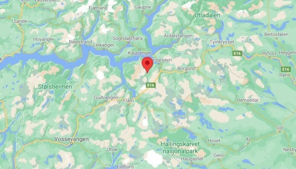 Leteaksjon etter savnet mann i Aurlandsfjellet i Sogn