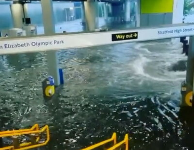 Image: Store oversvømmelser i London